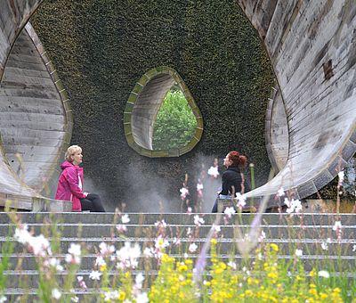 In der Sole-Arena in Bad Essen vernebelt feine Sole und dient damit nachhaltig der Gesundheit der Atemwege.