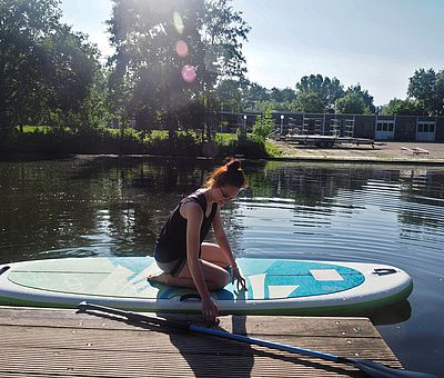 stand up paddle workshop in Osnabrück